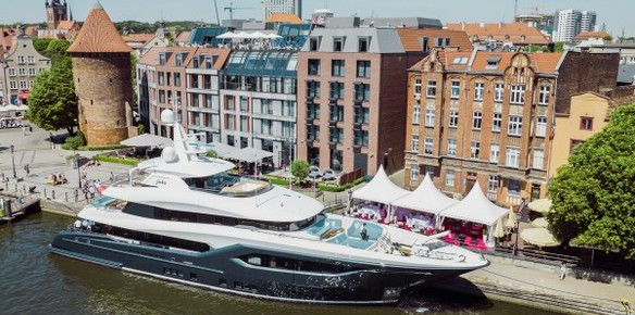 Conrad Shipyard Delivers Newly Christened Superyachts Com