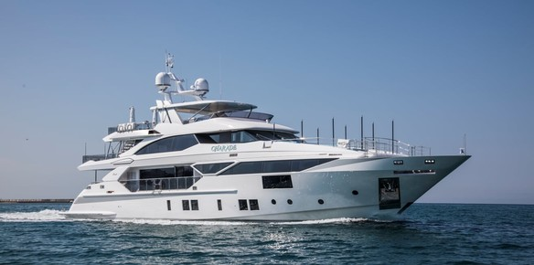Benetti Delivers 125' M/Y Charade to Owners