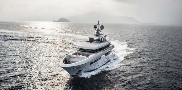 41m OKKO Listed for Charter with Imperial Yachts