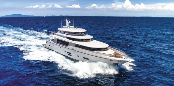 Johnson Yachts Presents New 28m Concept