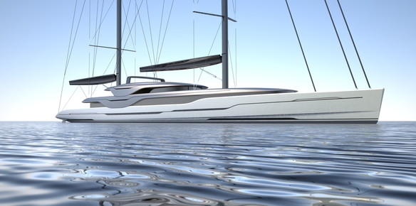 Doyle & Van Geest Discuss Plans for 93m fast Ketch