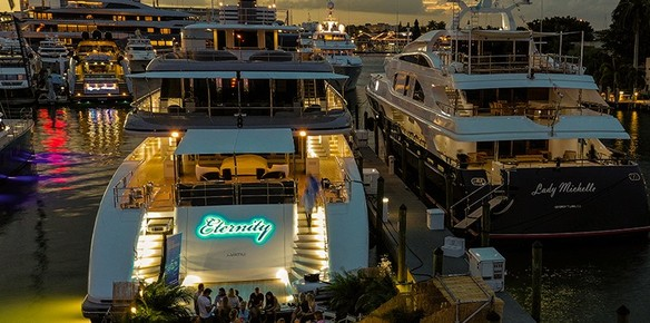 Hill Robinson Launch 65m Refit Project Eternity