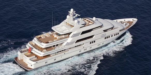 70.3m M/Y Saint Nicolas Sold to New Owner
