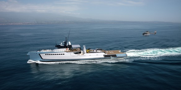 Burgess Sells Damen 55.5m Yacht Support Vessel