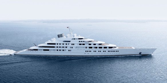 The Current Top 10 Largest Superyachts In The Superyachts Com