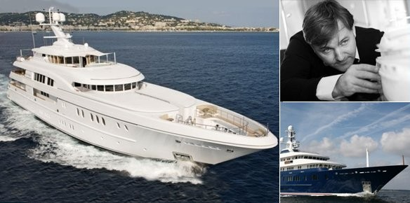 Superyacht Arkley and Northern Star with Designer Espen Oeino