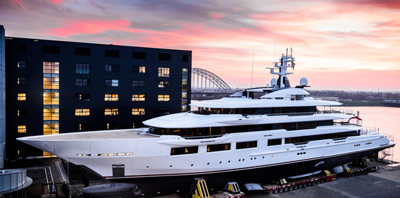 Oceanco Launch Top 100 Yacht M/Y DreAMBoat