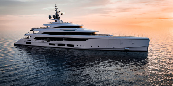 Benetti Sell First Megayacht with Chinese Flag