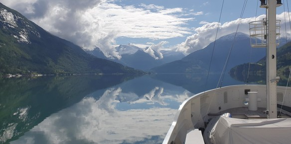 A Captain's Perspective: Cruising the Fjords with Steel