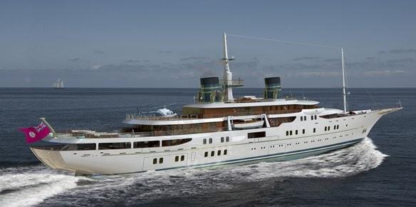 Blohm voss introduce the 111m vintage motor for Vintage motor yachts for sale