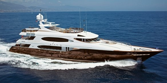 YPI and Merle Wood Sign Superyacht Glaze for Sale