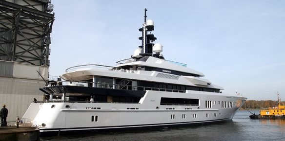 Lürssen Superyacht Hermitage Launched