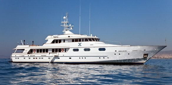 YPI Sign Superyacht X For Sale with Fraser Yachts