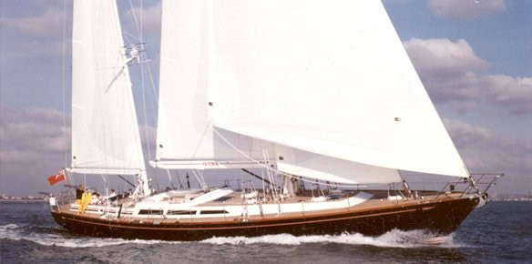 Sailing Yacht Sceptre for Sale with Sparkman & Stephens