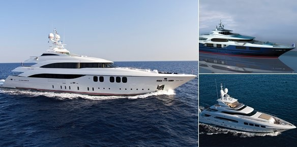 Merle Wood Sign 3 New Mondomarine Superyachts for Sale