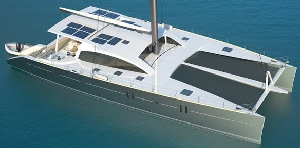 New 24m sailing catamaran designed by Van Peteghem Lauriot Prévost