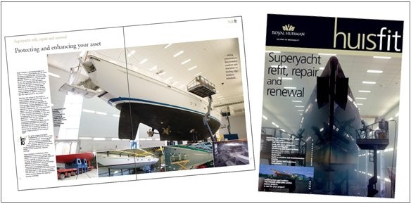 Royal Huisman Expand Refit Business with 'Huisfit'