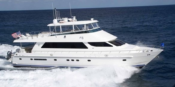 Motor yacht Goose Bumps will appear at FLIBS