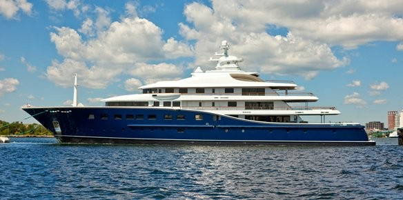 Merle Wood & Burgess Sign Superyacht Cakewalk for Sale