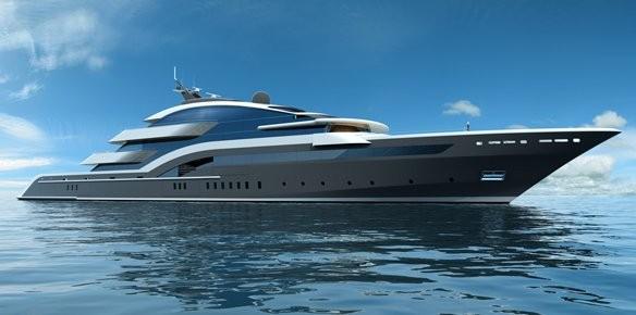 Superyachten concept  New 90m Oceanco Superyacht Concept by Luiz de.. | superyachts.com