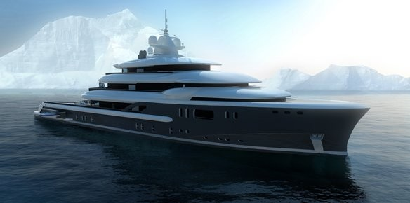 Newcruise Introduce New 72m Explorer Superyacht Concept