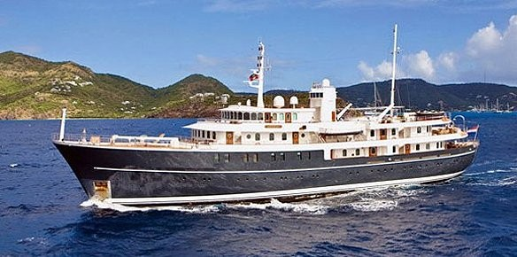 Charter superyacht sherakhan available for Vintage motor yachts for sale