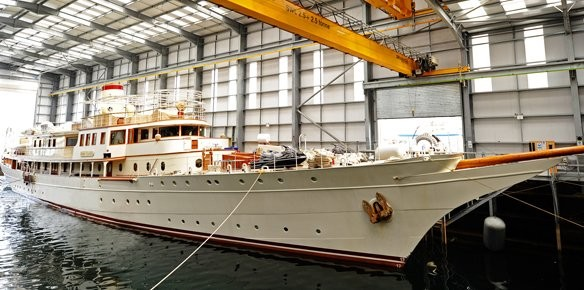 Pendennis Plus Complete Largest Refit to Date