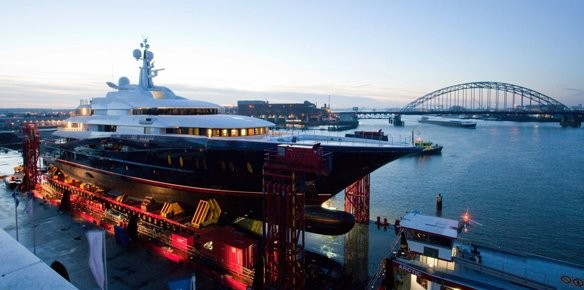 Oceanco Launch the Y707 Superyacht Project
