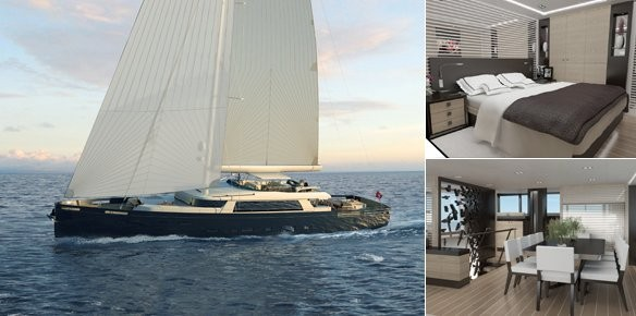 Construction of S/Y Extreme underway at Mengi