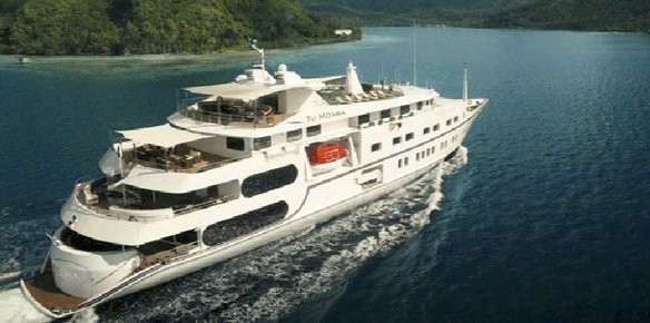 YPI Sign Mini-Cruise Ship Tu Moana For Sale
