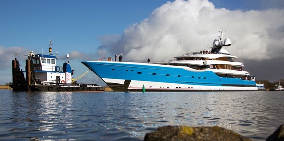 Edmiston Comments on Feadship's 99m Superyacht Dream