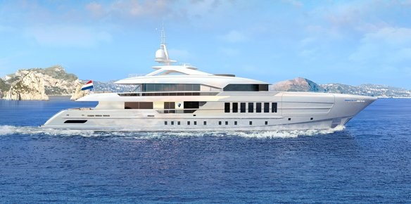 Heesen Yachts Sell First 55m Steel Fast Displacement Yacht