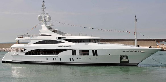 Superyacht Ocean Paradise Launched by Benetti