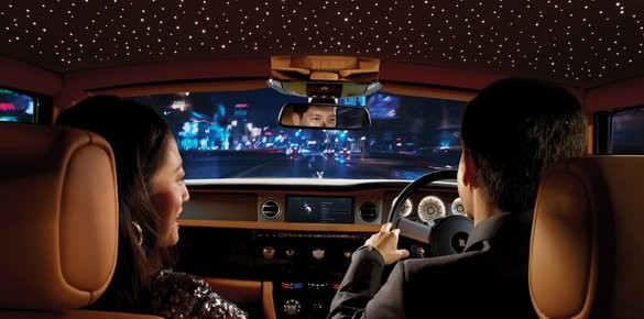 Rolls Royce Phantom Offers Customised Starry
