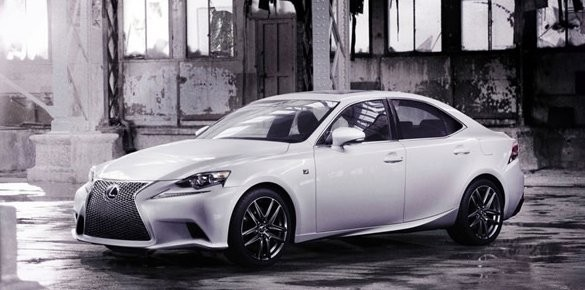 2014 Lexus IS to Debut at Detroit Auto Show