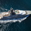 Superyacht Kismet: The largest of the Top 100 charter vessels listed on Superyachts.com