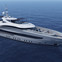 The 50-metre Steel Heesen superyacht Project Maia, now christened Omaha