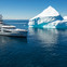 M/Y Cloudbreak pictured in Antarctica