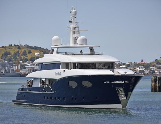 Alloy yachts launch superyacht hey jude superyachts com