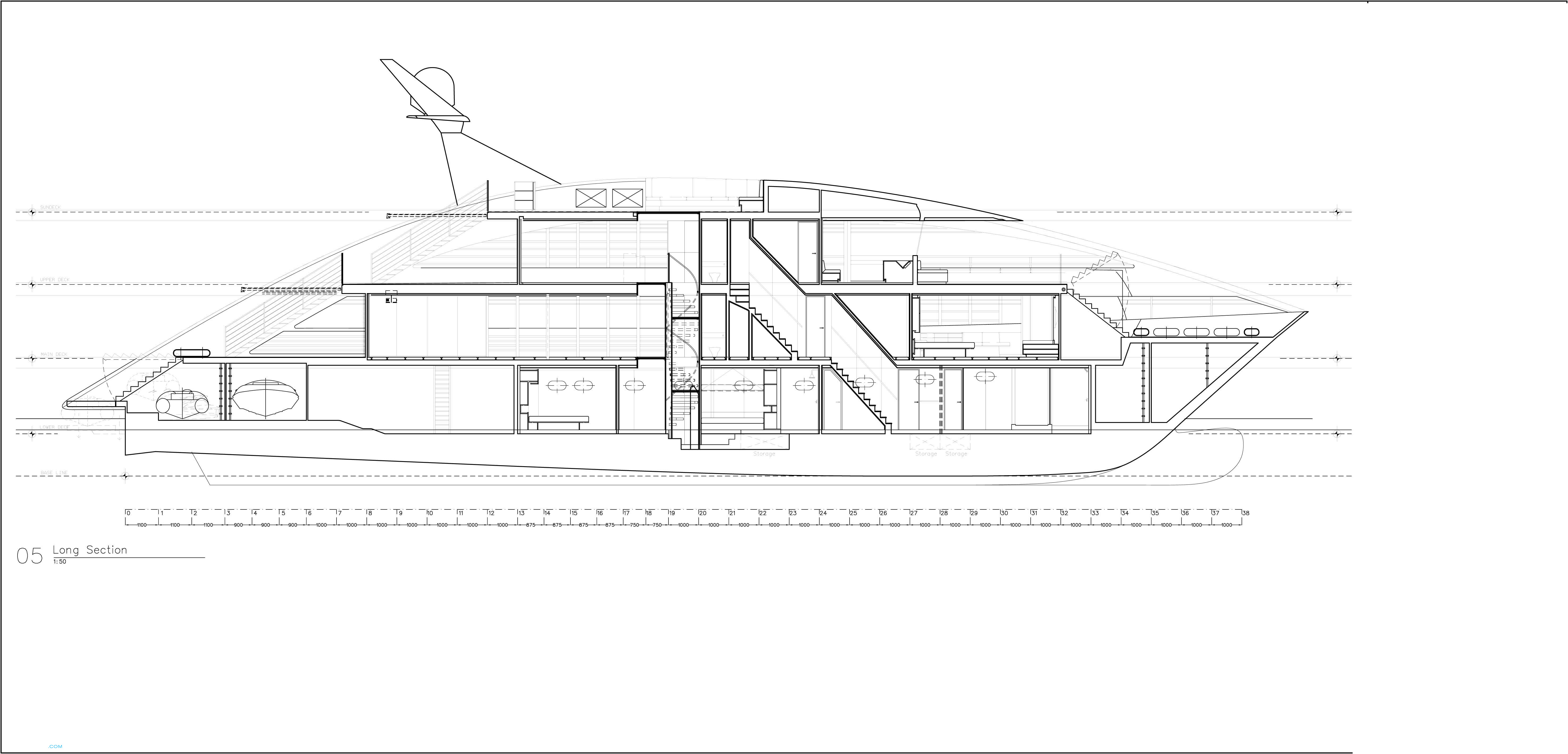 Ocean pearl layout rodriquez yachts motor superyachts com