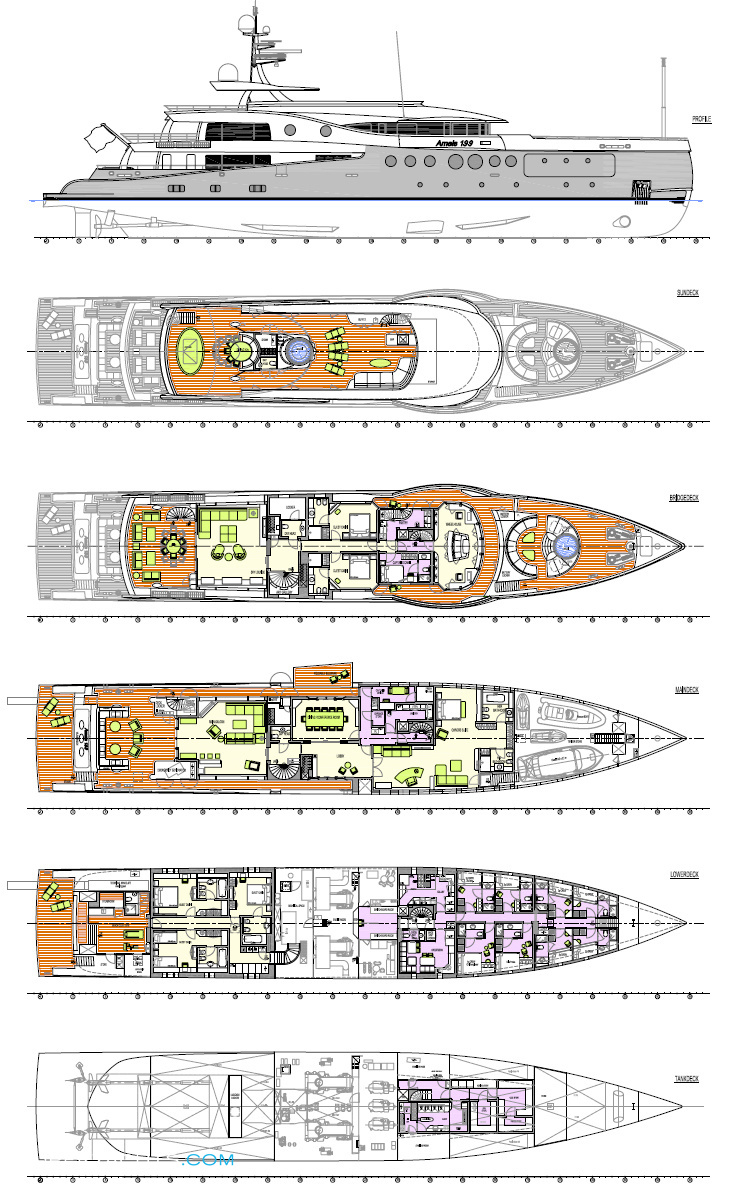 Amels 199 Photos Superyachts Com