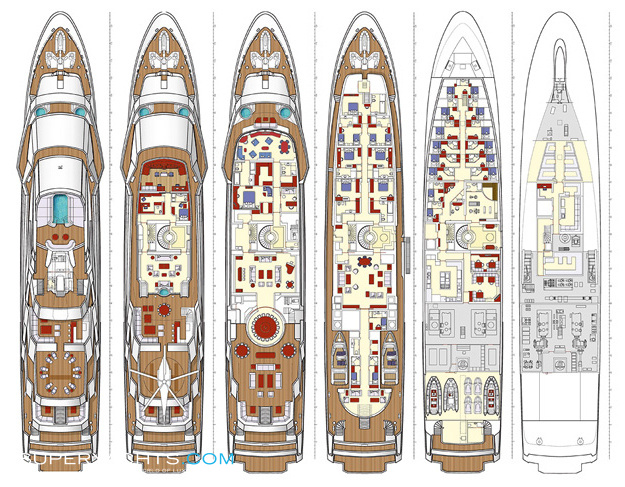 Do It Yourself Home Design: Amevi Layout - Oceanco Motor Yacht