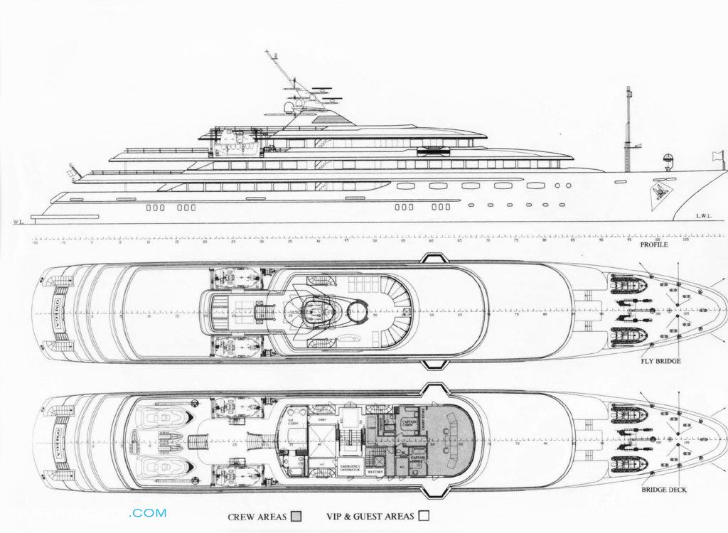 O'Mega Layout - Mitsubishi Heavy Industries .. | superyachts.com