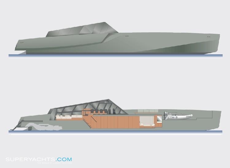 Wally Power 118 Layout - Intermarine Motor.. | superyachts.com