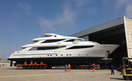 ISA Yachts Prepare To Launch Superyacht Aziza