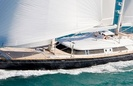 Silvana Luxury Sail Yacht by Perini Navi