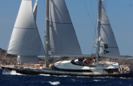 Victoria A Luxury Sail Yacht by Perini Navi