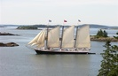 Victory Chimes Luxury Sail Yacht by George K. Phillips Co.