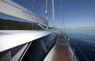 Zefira Luxury Sail Yacht by Fitzroy Yachts