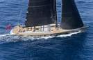 Dark Shadow Luxury Sail Yacht